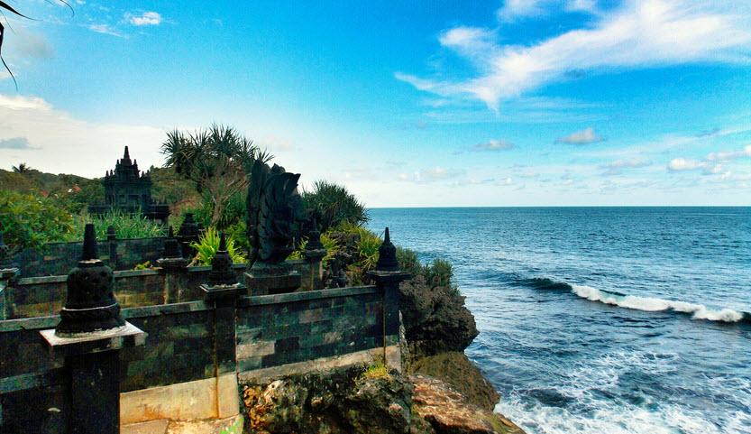 Indahnya Pantai Ngobaran Bali Van Java Di Jogja Pusat Informasi Tempat Wisata
