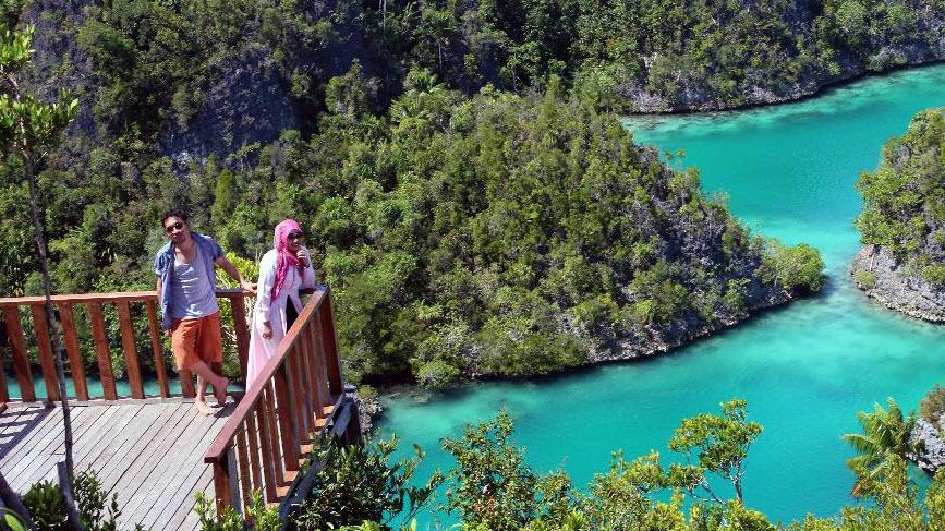 resort di pulau waiwo