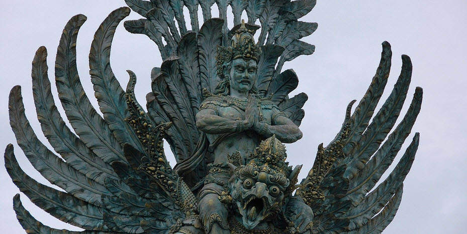 Garuda Wisnu Kencana Maskot Pariwisata Bali Di Masa Depan